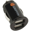 Griffin PowerJolt Dual Micro Car Charger for iPhone/iPod (GC23089)