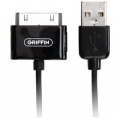 Griffin USB to Dock Cable Black for iPad/iPhone/iPod (3013-IDCKCBL)