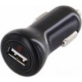 Griffin Car Charger 2.1A Lightning USB Cable (PowerJolt) Black (GC37403)
