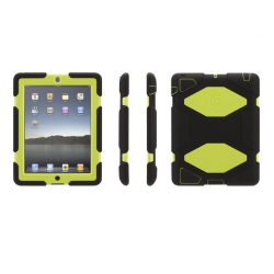 Griffin Survivor for iPad Air - Black/Citron (GB36404)