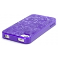 Griffin Motif Paisley Purple for iPhone 4, 4S (GB03149)