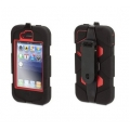 Griffin Survivor Red/Black for iPhone 4, 4S (GB04071)