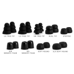 H2O Audio Pro Fit Kit - 9 Pairs of Earplugs with Storage Box (EP9-PFK)