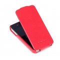 Hoco Duke Leather Case Red for Apple iPhone 4, 4S (NIP-OU182)