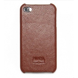 Hoco Duke Protection Open Face Case for iPhone 4, 4S - Brown