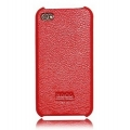 Hoco Duke Protection Open Face Case for iPhone 4, 4S - Red