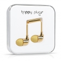 Happy Plugs Headphones Deluxe Edition In-Ear Gold (7728)
