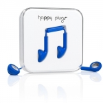 Happy Plugs Headphones Earbud Cobalt (7729)