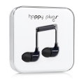 Happy Plugs Headphones In-Ear Black (7720)