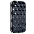 Hard Candy Cases Bubble Slider Chrome/Black for iPhone 4 (BS4G-CHR-BLK)