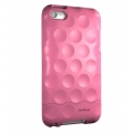 Hard Candy Cases Bubble Slider Soft Touch Pink for iPod Touch 4G