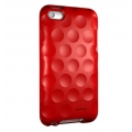 Hard Candy Cases Bubble Slider Soft Touch Red for iPod Touch 4G (BS-ITOUCH-RED)