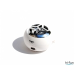 Hi-Bomb Portable Speaker - White (HI-BOMB-W)