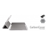 ION Carbon Cover White/Silver for iPad 2 (i977- LSL011)