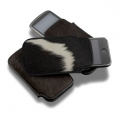 ION Eskimo Pouch Dual Color Cattle Hides for iPhone 3G, 3GS, 4, 4S (i730-LWH018D)
