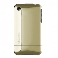 Chrome Slider Case for iPhone 3G/3GS Argon Green