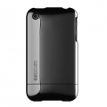 Chrome Slider Case for iPhone 3G/3GS Black