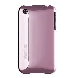 Chrome Slider Case for iPhone 3G/3GS Pearl Pink