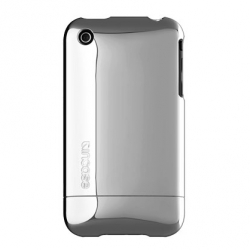 Chrome Slider Case for iPhone 3G/3GS Silver