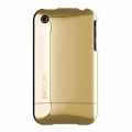 Chrome Slider Case for iPhone 3G/3GS Gold