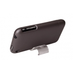 Metallic Slider Case for iPhone 3G/3GS Gun Metal