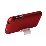 Metallic Slider Case for iPhone 3G/3GS Red