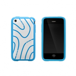 Topo Frame Case for iPhone 3G/3GS Blue