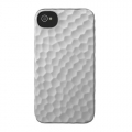 Incase Metallic Hammered Snap Case for iPhone 4, 4S - Silver (CL59990)