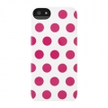 Incase Dots Snap Case for iPhone 5, 5S - White Pop Pink Dots (CL69101)