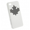 InСase Maple Leaf Case White for iPhone 4