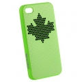 InСase Maple Leaf Case Green for iPhone 4