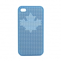 InCase Maple Leaf Case Blue for iPhone 4