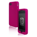 Incipio Derma Shot Silicone Case Fuchsia Magenta for iPhone 4 (IPH-501)