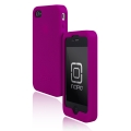 Incipio Derma Shot Silicone Case Bright Purple for iPhone 4 (IPH-502)