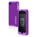 Incipio Silicrylic Hard Shell Case Purple/Pink for iPhone 4 (IPH-508)