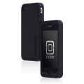 Incipio Silicrylic Hard Shell Case Black/Black for iPhone 4 (IPH-506)
