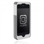 Incipio Silicrylic Hard Shell Case White/Silver for iPhone 4 (IPH-510)