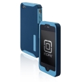 Incipio Silicrylic Hard Shell Case Navy Blue for iPhone 4 (IPH-509)