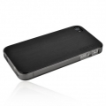 Incipio Metal Case with Polycarbonate Frame Le Deux Black/Smoke for iPhone 4, 4S (INC-IPH680)