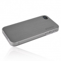 Incipio Metal Case with Polycarbonate Frame Le Deux Silver/Clear for iPhone 4, 4S (INC-IPH681)