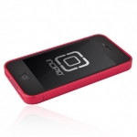 Incipio Metal Case with Polycarbonate Frame Le Deux Black/Pink for iPhone 4, 4S (INC-IPH682)