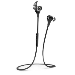 Jay Bird BlueBuds X In-Ear Bluetooth Headphones - Midnight Black (BBX1MB)