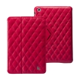 Jison Case Matelasse Leather Cover for iPad Mini, Rose (JS-IDM-03G33)