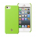 Jison Smart Case of Folded Edge for iPhone 5, 5S - Green