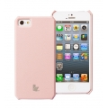 Jison Smart Case of Folded Edge for iPhone 5, 5S - Pink