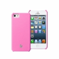 Jison Case Fashion Wallet Case for iPhone 5, 5S - Rose (JS-IP5-01H33)
