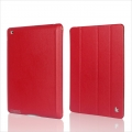 Jison Executive Smart Cover for iPad 4, iPad 3, iPad 2 - Red