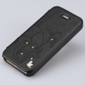 Jison Case Fashion Folio with Crystal for iPhone 5, 5S - Black (JS-IP5-13H10)