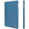 Jison Case Ultra-Thin Smart Case for iPad Air - Blue (JS-ID5-09T45)