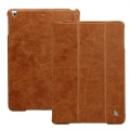 Jison Case Vintage Leather Smart Case Brown for iPad Air (JS-ID5-01A20)